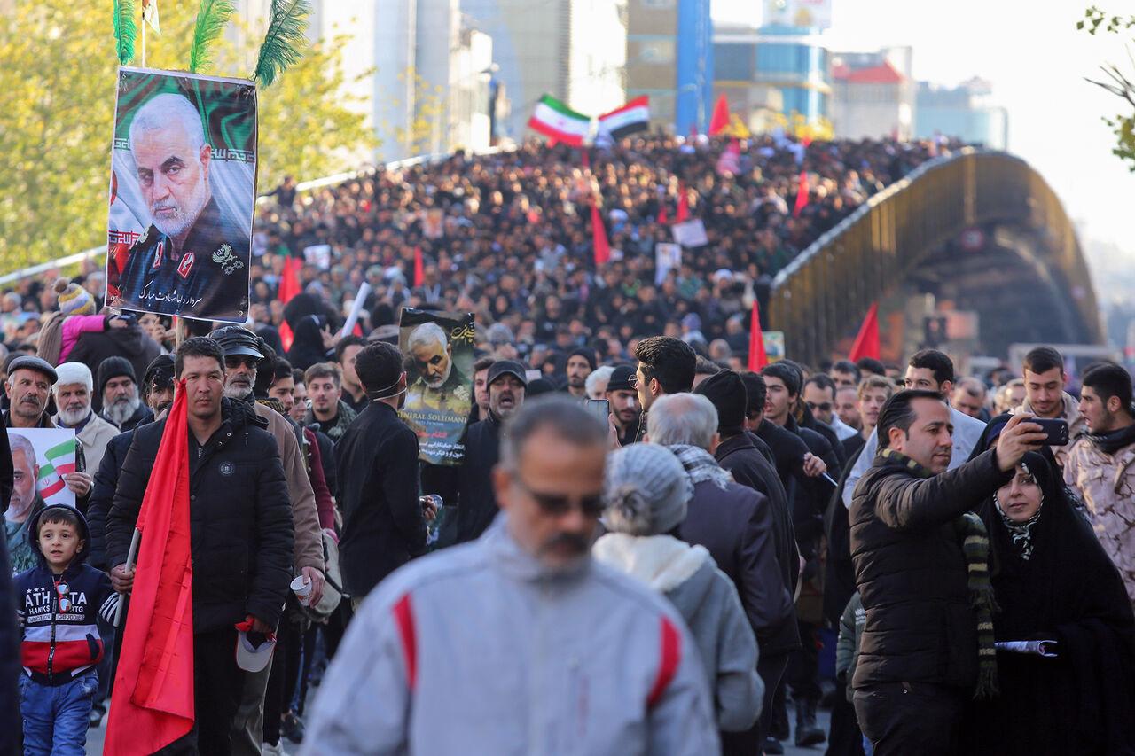 Dženaza i veličanstven ispraćaj šehida generala Kasima Sulejmanija u Teheranu